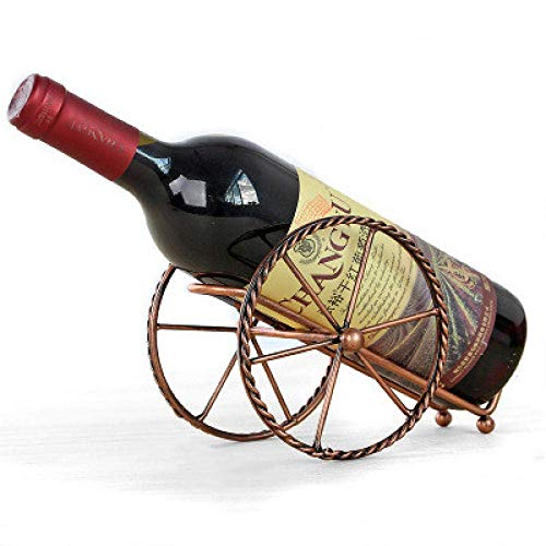 Allamp Arte del Vino Decoraciones Craft Triciclo Estante de exhibición de Hierro Forjado de pie salón de decoración del hogar botellero