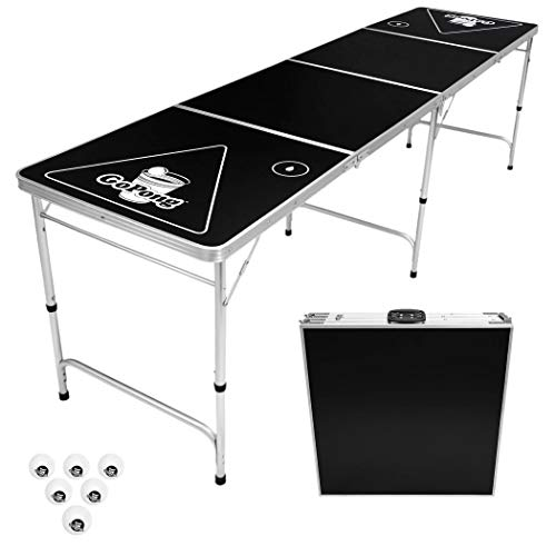 GoPong 8-Foot Portable Folding Beer...