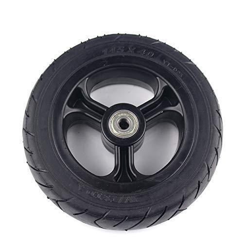 SXFYHXY Neumático Sólido 5.5 * 2 con Cubo De Plástico Rueda Sólida para Carrito De Niños De Scooter Eléctrico Neumático