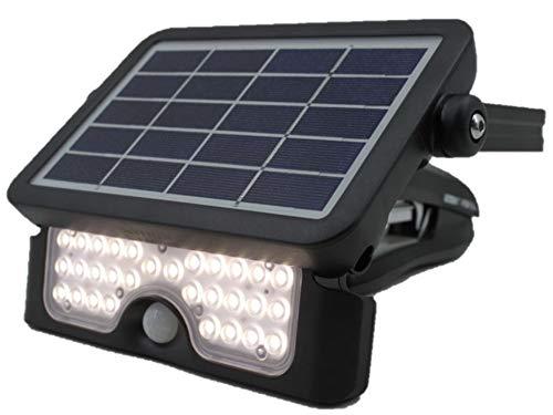 Höfftech 012078 - Foco led solar (500 lúmenes, con sensor de movimiento)