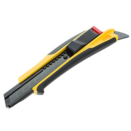 Tajima DFC569B Quick Back Cutter 18 mm, Noir/Jaune