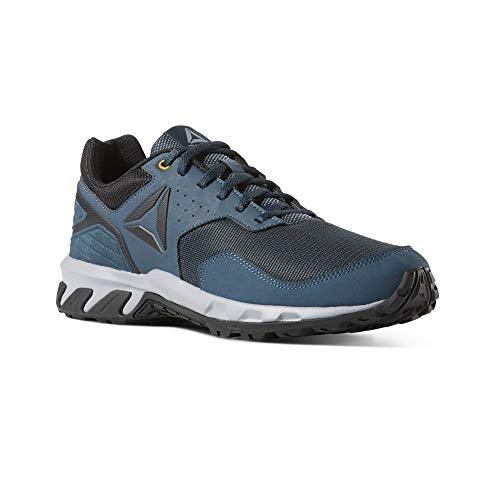 Reebok Herren Ridgerider Trail 4.0 Fitnessschuhe, Mehrfarbig (Blue Hills/Cool Shadow/Trek Gold/Black 000), 45 EU