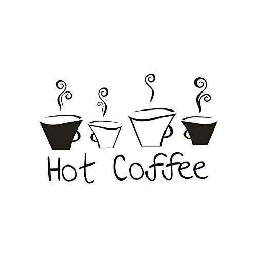 Moent Women Clothes Wohnkultur Neuankömmling Schönes Design Kaffeetassen Tee Kaffee Kunst Aufkleber Vinyl Wandaufkleber Aufkleber Raumdekor