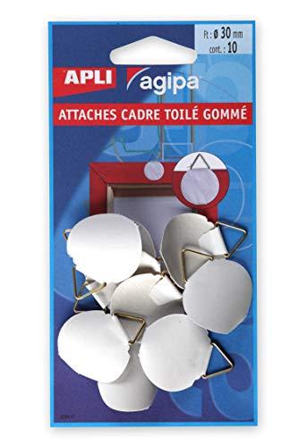 agipa 101304 Support pour cadre en caoutchouc Ø 30 mm