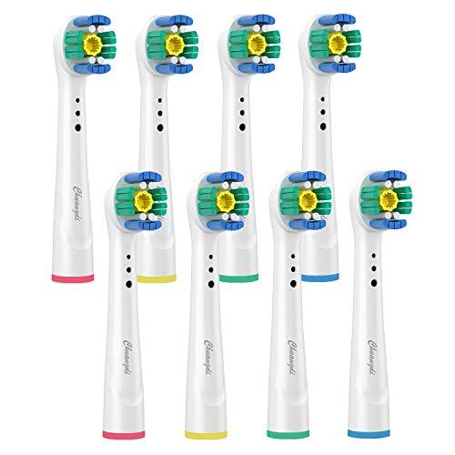 Testine per spazzolino di ricambio Oral B, 3D White Generiche Testine di Ricambio per spazzolino elettrico Oral B Vitality Pro White, 3D Whitening, Sensitive Clean, Precision Clean, 8 Pezzi