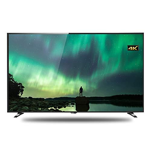 LINGXIU TV LCD, TV por Internet Ángulo De Visión De 178 ° Calidad De Imagen Ultra Clara De 4k Diseño Totalmente Metálico, Cuerpo Delgado Y Liviano Adecuado para Todos