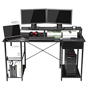 gaming desk with storage