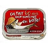 Les mouettes d'Arvor Sardinas Premium 60 ans 115g – Estas sardinas están cubiertas con aceite de oliva virgen extra, un aceite de renombre