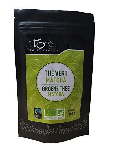 Touch Organic Thé Vert Matcha 100 g- BIO