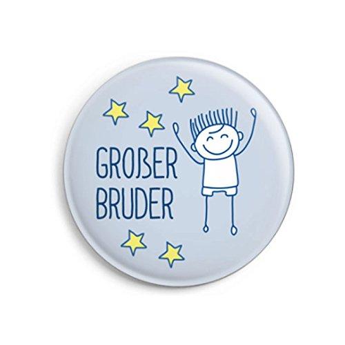 dabelino   Button Großer Bruder (Ø32mm)   Geschenk zur Geburt