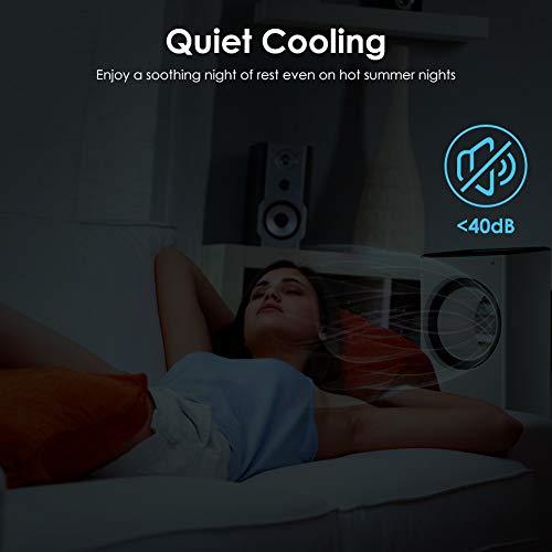 Mobile Klimaanlage 4 in 1 Aircooler Luftkühler Ventilator Luftreiniger Luftbefeuchter 8h Timer | 3 Modi | 3 Stufen | Oszillierend | Mobile Klimagerät Mit Fernbedienung - 7