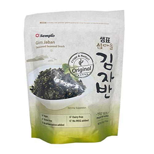 Sempio - Snack de Algas Original Gim Jaban 'Vegano' - 50 gr