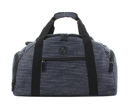 Franky Reisetasche Reisegepäck Sporttasche Dufflebag RT34 S Blue Stripe