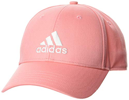 adidas Bball Cap Cot Gorra, Unisex Adulto, Glory Pink/Glory Pink/White, OSFW