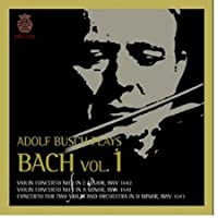 Adolf Busch Plays Bach Vol.1 (Korea Edition)