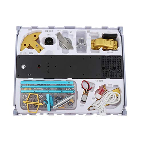 SM SunniMix Kit de Modelo de Física de 219 unids/Set, Modelo DIY de máquina de Bombeo de Aceite, Regalo Educativo de Tallo operado a Mano, Kit de invención