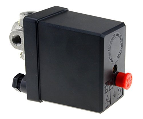 3-Phasen Druckschalter f. Kompressor 20A 4-Anschlüsse 1/4