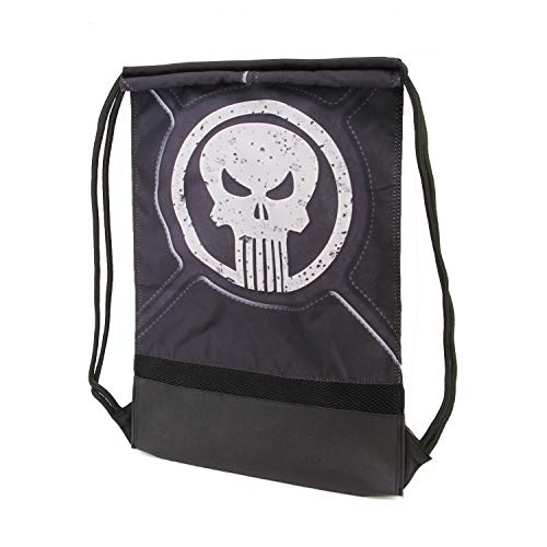 Karactermania Punisher Punisher-Storm Turnbeutel Sacca, 48 cm, Nero (Black)