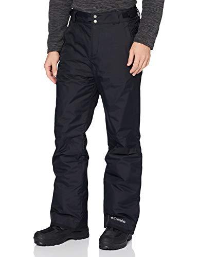Columbia Pantalón de esquí para Hombre, Bugaboo Omni Heat, Negro (Black), Talla...