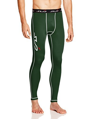 Sub Sports Mens Compression Leggings Tights Running Layer Sweat Wicking Fabric