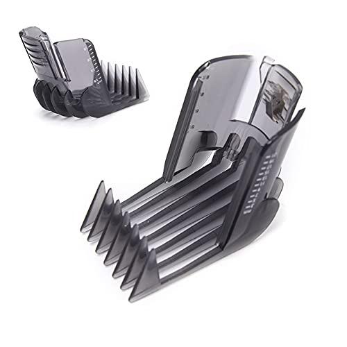 WANGZHENZHEN SHUZHEN Clippers para el Cabello Barba Trimmer Peine Pegamento para Philips QC5130 / 15/05/20/2015/35 3-21mm