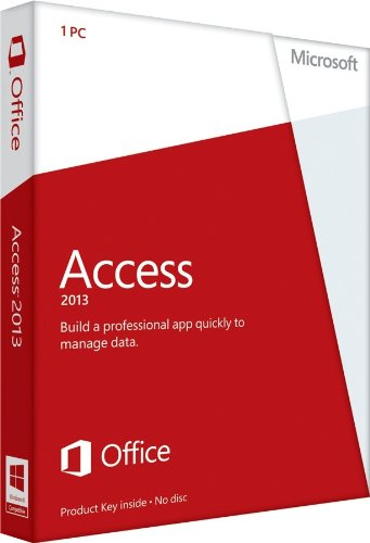 Microsoft Access 2013 - 1PC (Product Key Card ohne Datenträger) [import allemand]