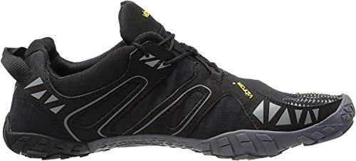 Vibram Men's V Trail Runner, Black/Grey, 10.5-11 M US / 44 EU