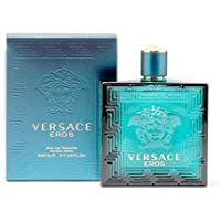 Versace Eros Eau De Toilette Spray Cologne for Men 6.7oz