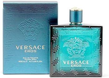 Versace Eros Eau De Toilette Spray Cologne for Men 6.7oz