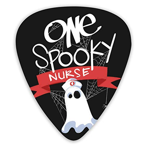 Púas de guitarra estampadas para disfraz de enfermera de Halloween (paquete de...