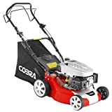 Cobra M40SPC 40cm (16in) Petrol Lawnmower, self propelled drive powered by a DG450