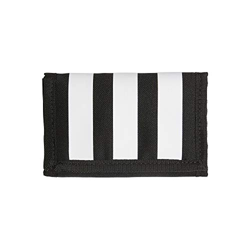 adidas 3-Stripes Wallet FL3654; Unisex Wallet; FL3654; Black; One Size EU (UK)
