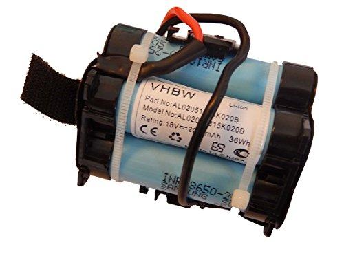 vhbw Li-Ion Akku 2000mAh (18V) für Rasenroboter Gardena R40 Li, R45Li, R70Li wie 574 47 68-01.