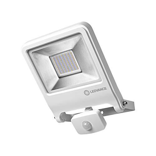 LEDVANCE LED Fluter, Leuchte für Außenanwendungen, integrierter Bewegungssensor, Warmweiß, 257,0 mm x 201,0 mm x 63,0 mm, ENDURA FLOOD Sensor