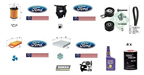 Tagliando Fiesta V Fusion 1.4 TDCI 50 Kw + Olio + Additivo + Distribuzione