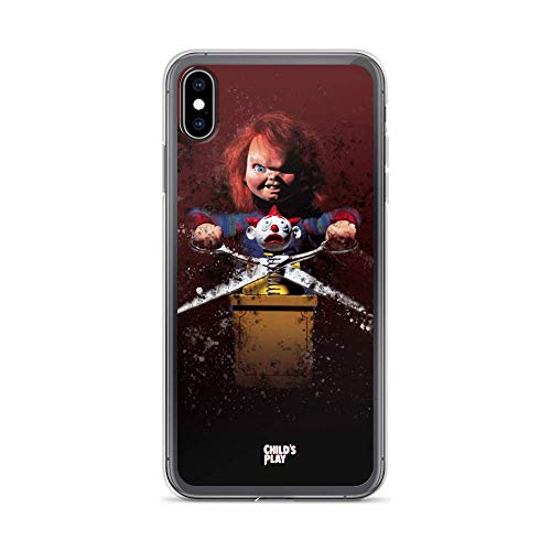 Roadiress Motion Pictures Childs Play Horror Movies Movies Video Film Compatible con iPhone 12/12Pro MAX 12 Mini 11 Pro MAX XR XS/XsMax SE 2020 7 8 6/6s Plus Samsung Series Funda Protectora