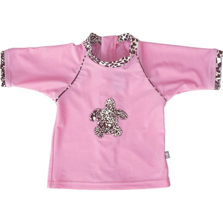 Mayo Parasol – Maglietta anti-UV per bambina, 0 – 4 anni, 18 – 24 mesi, panterosi