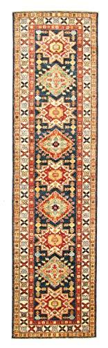 Nain Trading Kazak 288x76 Orientteppich Teppich Läufer Handgeknüpft Pakistan