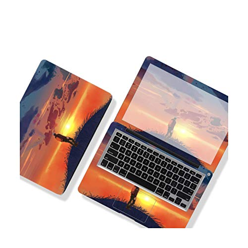 DIY Sunset Landscape Cover Laptop Sticker Ins Style Laptop Skin Waterproof Film Etc.-VX-048-11'