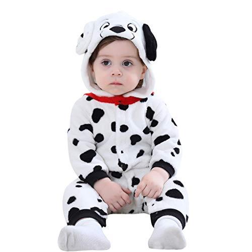 Voberry- Combinaison d'escalade pour Enfants Combinaison en Flanelle pour bébé Barboteuse de Pyjama pour Tout-Petit bébé