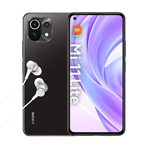 Xiaomi Mi 11 Lite 4G + Kopfhörer (16,63 cm (6,55