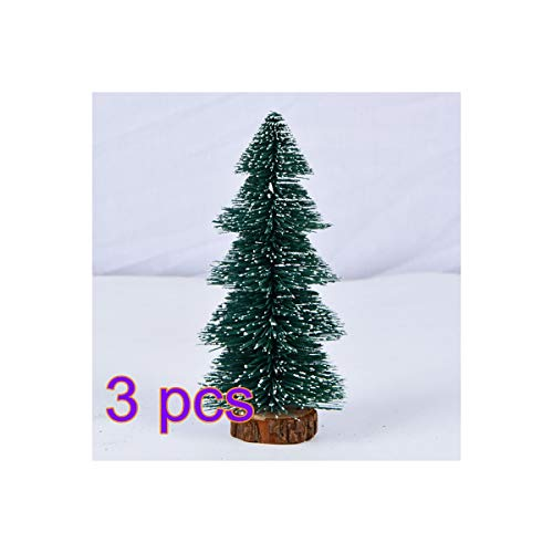 YINKUU Cashmere Pine and Mixed Needles Unlit Hinged Artificial Christmas Tree with Snow and Glitter Branches and Frosted Pinecones