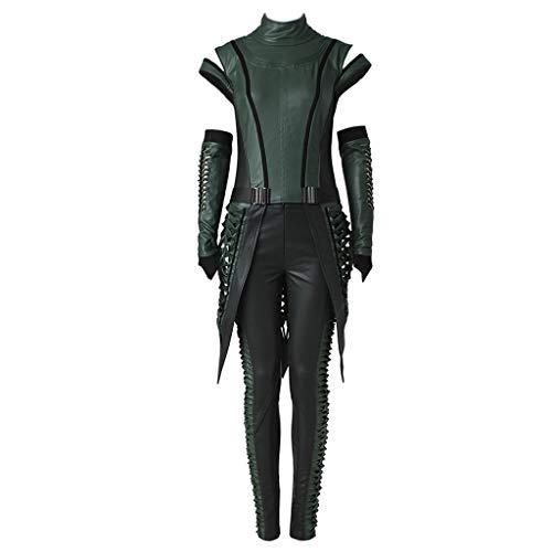 CosplayDiy Women's Suit for Mantis Halloween Cosplay Costume L Dark Green