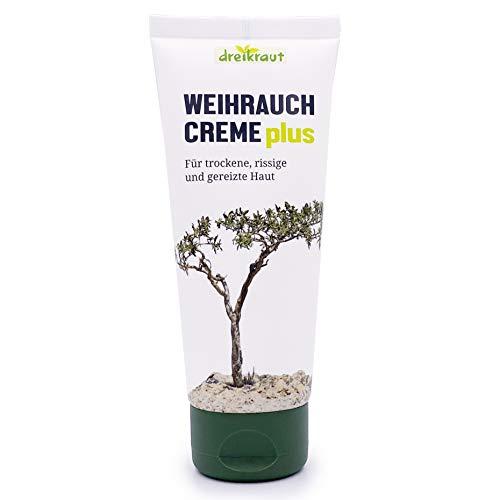 Weihrauch Creme plus - dreikraut, 100ml, Boswellia-Extrakt, Arnika, Ingwer u. Avocado-Öl
