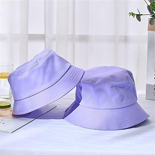 Sombrero de Cubo Plegable de Verano Unisex para Mujer, Gorra de Pesca de algodón con protección Solar al Aire Libre, Gorra de Pesca para Hombre, Sombreros para prevenir el Sol-a39-Baby(54cm)