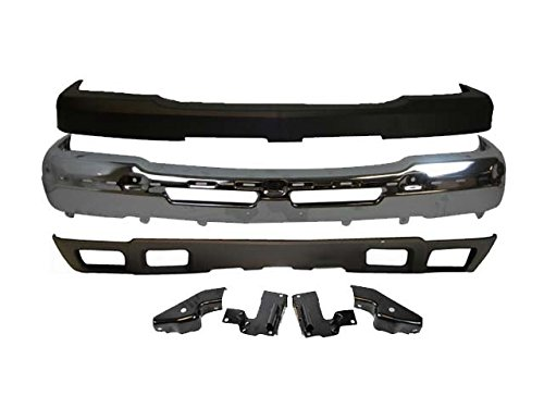 OE Replacement Chevrolet Avalanche//Silverado Front Bumper Face Bar Partslink Number GM1002416