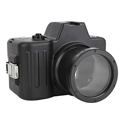 Topiky waterdichte cameratas, professionele 100M / 325ft onderwatercamera afdekking behuizing bescherming met koude schoen voor Sony A7 DSLR-camera