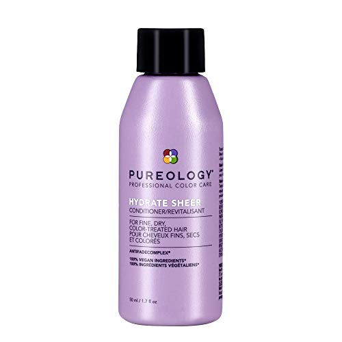 Pureology Hydrate Sheer Lightweight Hydrating Conditioner For Fine, Dry & Color-Treated Hair, 1.7 Fl Oz