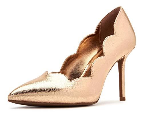 Katy Perry Women's The Dina Pump, ROSE GOLD, 6