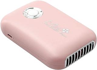 Handheld wimper fan mini USB oplaadbare sneldrogende koelventilator make-up tool roze kunstmatige wimper föhn